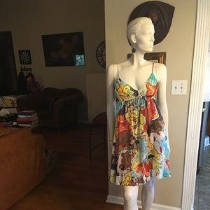 Diane von Furstenberg Silk On Silk Sun Dress